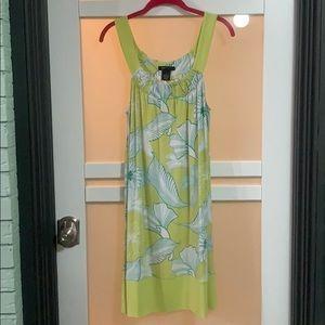 BCBG Floral Dress, Size XL